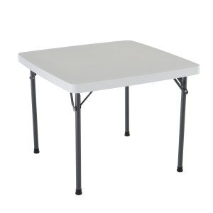 square foldable plastic table
