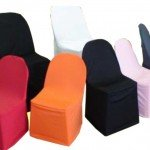 chaircover colour for plastic chairs