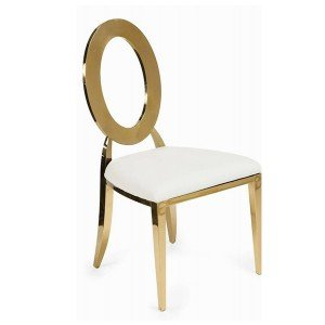 Gold-Round-Shape-Stainless-Steel-Dining-Chair