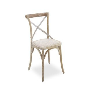 DiningChair Cross Back WhiteWash_Angle
