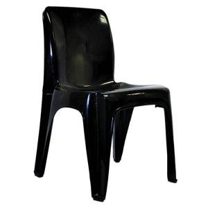 Derby chairs black bucket seat