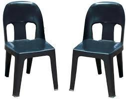 black plastic Zama Zama Chairs